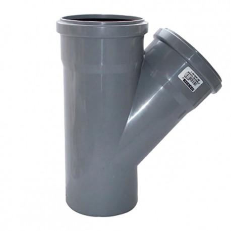 Тройник канализационный